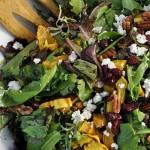 Roast Delicata Squash Salad