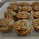 Zucchini Carrot Mini Muffins
