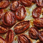 Roasted Roma (or plum) Tomatoes