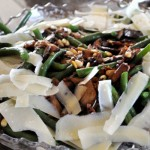 Sauteed Green Beans with Bacon, Mushrooms & Caramelized Onions