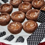 Salted Chocolate Espresso Caramel Cookies