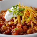 Vegetarian Chili with Quinoa