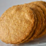 Homemade Cheddar Crackers