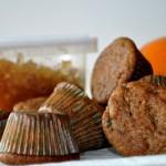 Orange-Ginger Whole Wheat Muffins