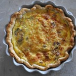 Bacon and Caramelized Onion Quiche