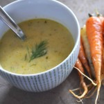 Springtime Carrot and Leek Soup