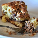 Chocolate Chip Hazelnut Coffee Cake