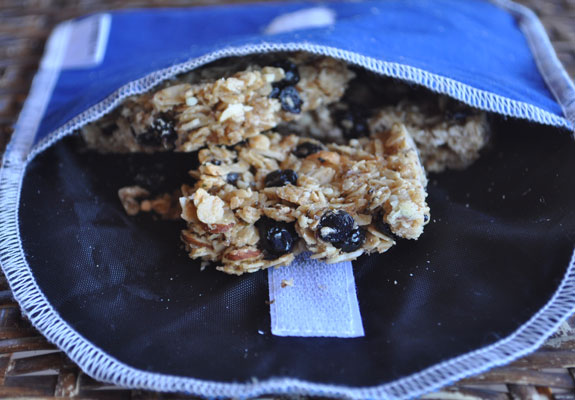 Toasted-almond-and-blueberry-granola-bars