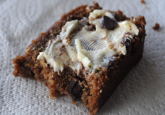 Healthier Zucchini Bread and more recipes for healthy chocolate zucchini bread on MyNaturalFamily.com #zucchini #chocolate #bread #recipe