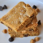 Salted Chocolate Chip Blondies