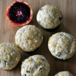 Blood Orange-Chocolate Chip Muffins