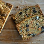Carrot Bread with Raisins and Pecans