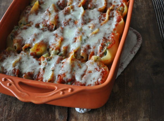 ricotta-and-greens-stuffed-shells-with-marinara-and-mozzarella-cheese-mountain-mama-cooks-5