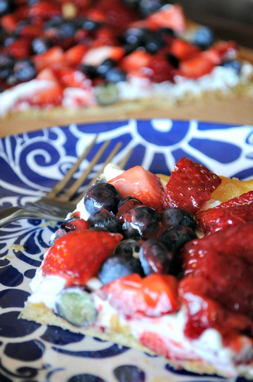Easy Puff Pastry Fruit Tart, Mountain Mama Cooks