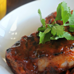 Cilantro Orange Barbeque Sauce