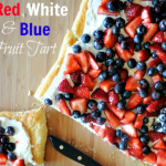 Red, White & Blue Fruit Tart