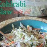 Vegan Kohlrabi Slaw