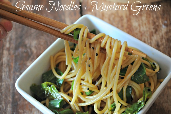 Simple Sesame Noodles Recipe — Dishmaps