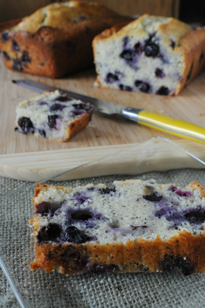 High Altitude Blueberry Poppy Seed Bread, www.mountainmamacooks.com