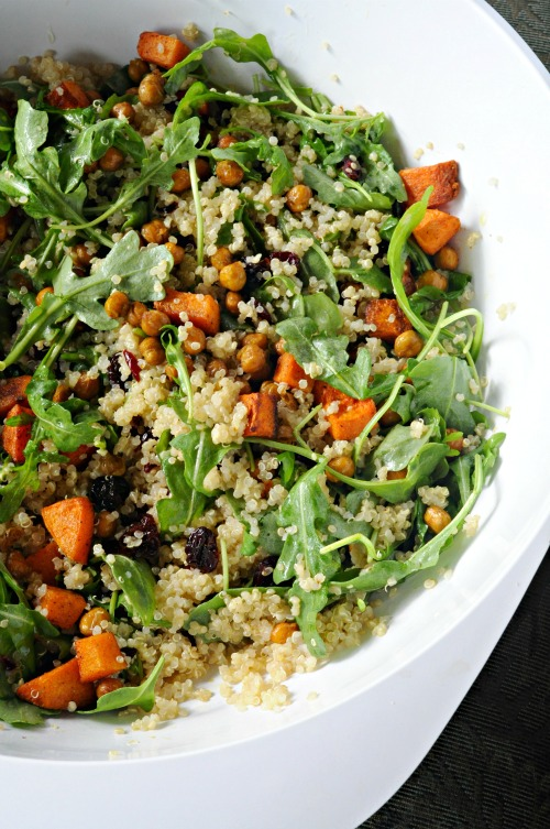 Quinoa With Grilled Summer Squash & Green Beans Recipes — Dishmaps