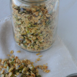 Small Batch Honey-Pistachio Granola