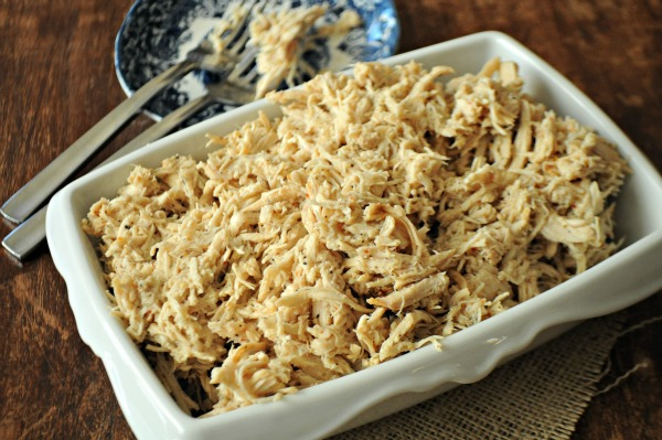 All-Purpose Slow Cooker Shredded Chicken, www.mountainmamacooks.com