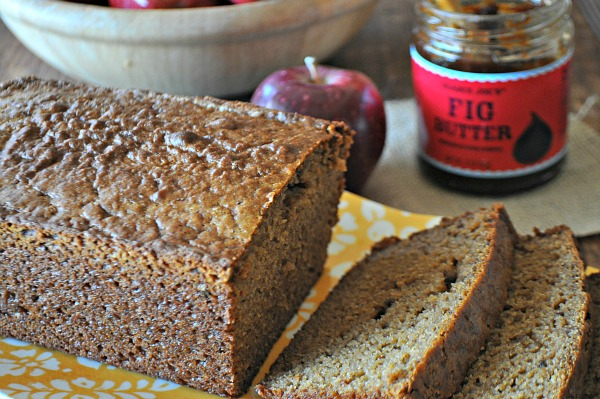 Apple and Fig Butter Bread, www.mountainmamacooks.com