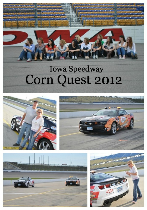 Corn Quest 2012, Iowa Speedway, www.mountainmamacooks.com