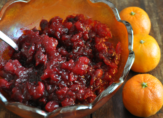 Cranberry Orange Sauce for Thanksgiving, www.mountainmamacooks.com