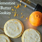 Clementine Butter Cookies