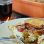 Cranberry Pecan Oven Baked French Toast