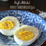 High Altitude Hard Boiled Eggs