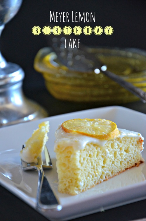 Meyer Lemon Cake with Simple Lemon Glaze, www.mountainmamacooks.com # ...
