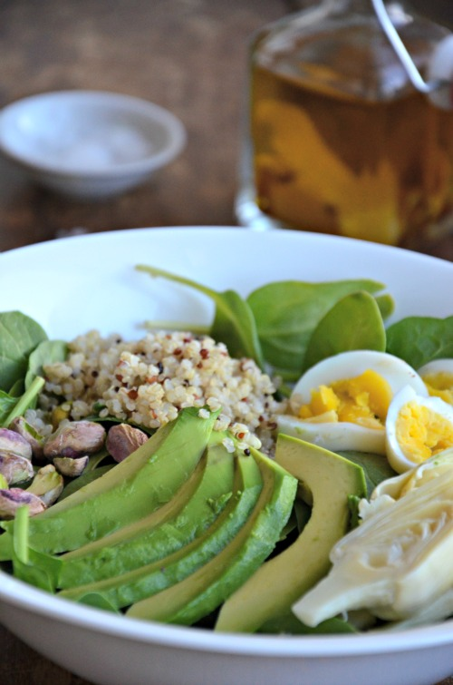Avocado, Artichoke, & Egg Salad, www.mountainmamacooks.com