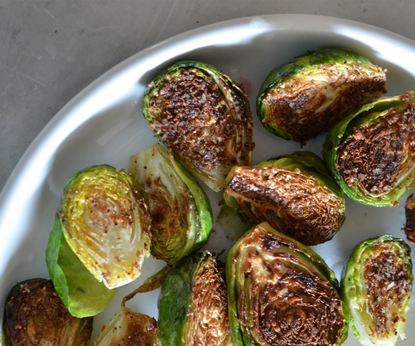 blackened brussels recipe