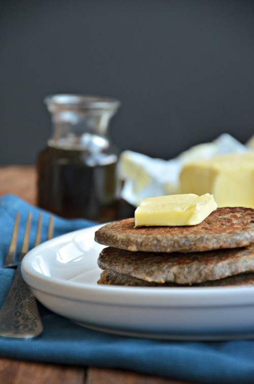 buckwheat pancakes recipe, #glutenfree #wholegrain www.mountainmamacooks.com