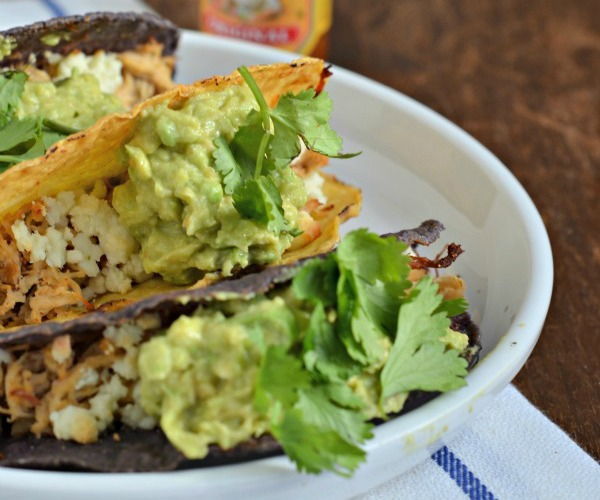 featured spicy baked chicken tacos, www.mountainmamacooks.com