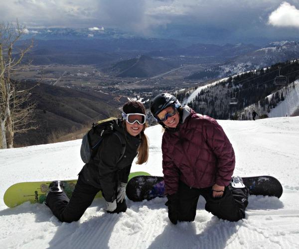 snowboarding Canyons Resort, www.mountainmamacooks