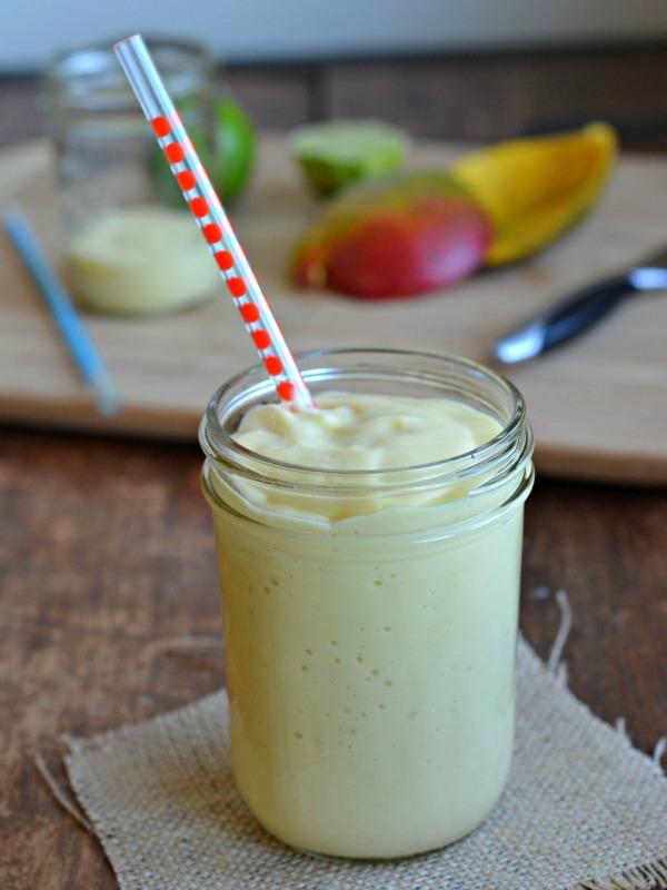 Coconut Mango Smoothie, www.mountainmamacooks.com