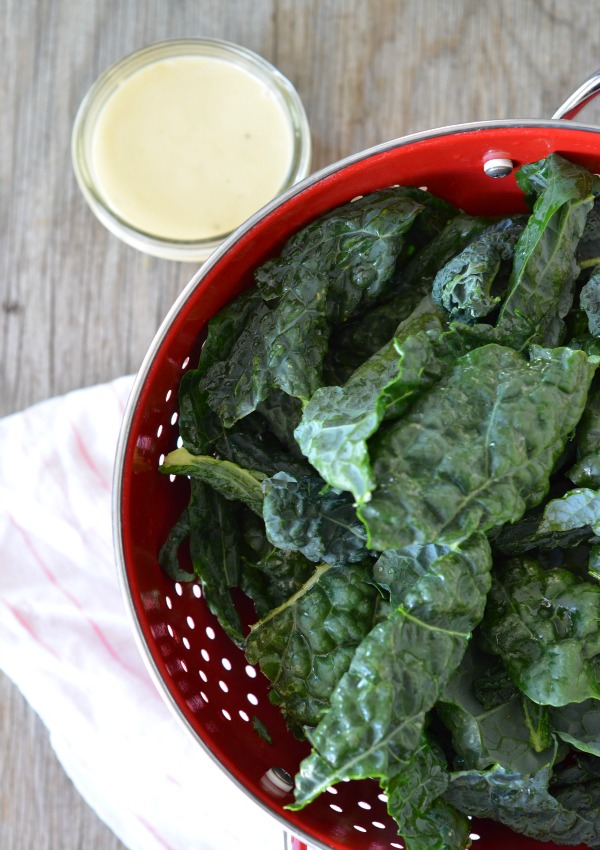 Kale Caesar Salad, www.mountainmamacooks.com