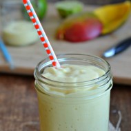 feature coconut mango smoothie