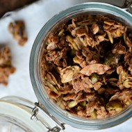 Cocoa Chai Granola Feature, www.mountainmamacooks.com