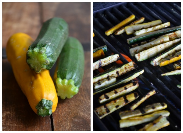 Grilling Summer Squash for Tacos, www.mountainmamacooks.com