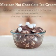 feature mexican hot cocoa ice cream recipe, www.mountainmamacooks.com