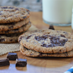 Salted Whole Wheat Chocolate Chunk & Toffee Cookies + Cookie Trivia