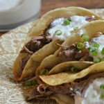 Taco Tuesday: Pot Roast Tacos with Horseradish Sauce