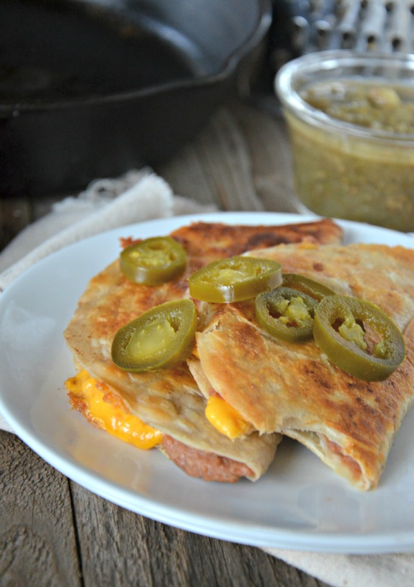 Crispy Bean and Cheese Taco Recipe | www.mountainmamacooks.com