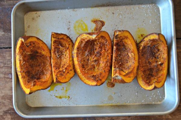 Pumpkin & Chorizo Baked Taquitos | www.mountainmamacooks.com