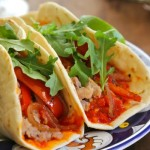 Taco Tuesday: Moroccan Chicken Tacos with Spiced Harrisa
