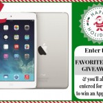 My Favorites Things + an iPad Air Giveaway